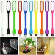 3 Pcs Flexible Usb Led Light Lamp Portable Bright Usb Led Lights for Power Bank