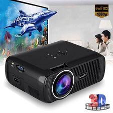 7000 Lumens LED WIFI Home Theater Cinema Projector 1080p HD Video HDMI USB VGA