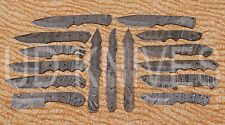 LOT OF 15 |UD HANDMADE 1095 DAMASCUS ART FULL TANG HUNTER KNIFE |BLADE LOT 10441
