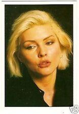 Blondie Debbie Harry  1987 Panini Pop Rock Sticker
