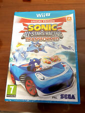 Sonic All-Stars Racing Transformed Nintendo Wii U Brand New