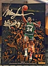 Mark Aguirre 2014 Panini 35th National Sport Convention 5X7 Jumbo Autograph Auto