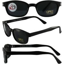 Sons of Anarchy Style Original KD's Biker Sunglasses w/ Dark Grey Lenses