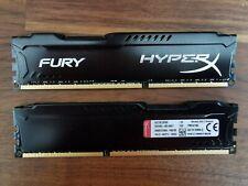 Kingston HX318C10FRK2/16 HyperX FURY (2 x 8GB, PC3-14900 (DDR3-1866), DDR3 SDRA…
