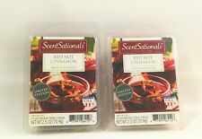 ScentSationals_Scented Wax Melts/Cubes_Red Hot Cinnamon_2 pack -6 cubes/pack_New