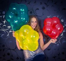 "3 x Qualatex 16"" Blossom-Luftballons in gemischten Kristallfarben*crystal colors"