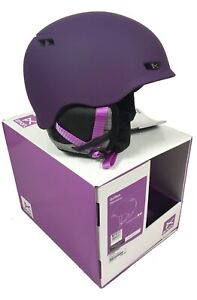 NEW Anon Burton Griffon Womens Snowboard Helmet!  Imperial Purple or Crafty Gray