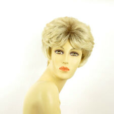 short wig for women blond very clear golden ref: VAL ys PERUK
