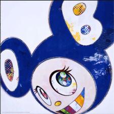 TAKASHI MURAKAMI KAIKAI KIKI Poster Blue Dob Signed! 300pcs LIMITED new