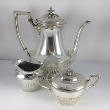 Fisher Queen Anne Sterling Silver 3 Piece Tea Set