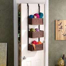 Southern Enterprises Over-The Door 3-Tier Basket Storage HZ6233 Basket Storage