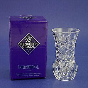 "Edinburgh Crystal Bud Vase - 11.75cm/4.5"" High BNIB"