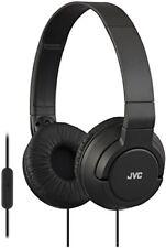 Jvc Hasr-185e Casque Audio pliable Noir avec Micro
