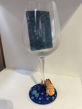 Disney Wine Glass Bling Glitter Nemo Finding Nemo