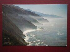 POSTCARD USA CALIFORNIA MISTY TRAIL ALONG WONDEFUL HIGHWAY 1