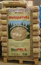 1 Palette Holzpellets 6mm 66 Sack á 15 kg = 990kg NEU Holz-Pellets Bio-Pellets