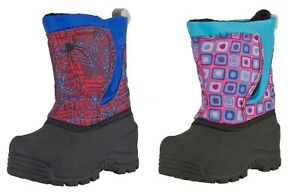 NORTHSIDE SAMPLE TODDLER SNOQUALMIE 200G INSULATED SNOW WINTER BOOTS  -25F 8T