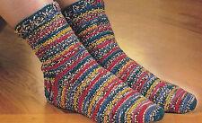 Crochet Pattern ~ Pretty Colorful Sock ~ Instructions