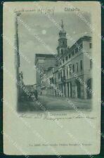 Padova Cittadella Chiaro di Luna PIEGHINE cartolina QT1684