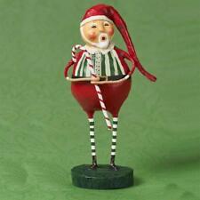 Lori Mitchell ~ St Nick's Sweet Licks ~ Christmas Folk Art Santa Figurine ~