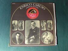 ENRICO CARUSO II - Années de jeunesse - LP Voix Illustres EMI OVD 50.010