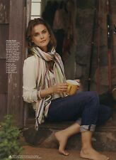 Keri Russell 7pg + cover SELF magazine feature, clippings