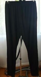 Kathmandu Altica Size XL Base Layer Black Long Pants Elastic Waist