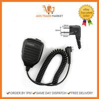 NEW Shoulder Handheld Speaker Microphone KMC-21 Security 2 Pin Mic Speaker