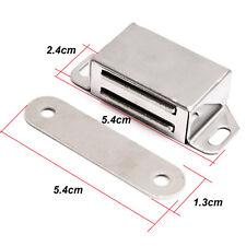 Gegenplatte für Türmagnete 10x Gegenstück zum Schrauben Stahl 12 x 42 mm
