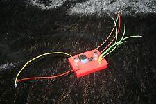 ! NEU Drehzahlregler f. Raucherzeuger Rauchmodul Smoker f. Modelle mit 2 Motoren