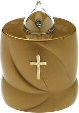 Flickering Battery Religious Grave Memorial Candle for Cemetery