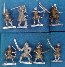 8 Assorted Ronin Miniatures — Clan War L5R Legend of the Five Rings samurai