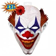 EVA Clown Mask Scary  XX Large double as wall hanging mrFO-61362