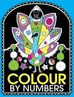 Colour by Numbers-Adult Colouring Book-Brand New-9781780551166-Fast Post