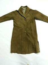Vintage Gallagher Deerskin Leather Womens Coat Made in Usa