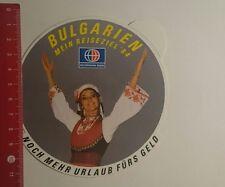 Aufkleber/Sticker: Bulgarien Mein Reiseziel 84 Neckermann Reisen (28111678)