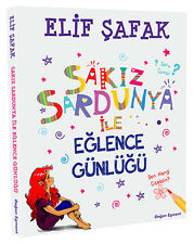 """ Elif Safak - SAKIZ SARDUNYA ile EGLENCE GUNLUGU ""Turkce Kitap Registered Mail"