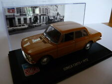 Voiture 1/43 IXO altaya SIMCA : 1301 S 1972 moutarde