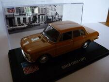 SIM35F Auto 1/43 ixo altaya Simca : 1301 S 1972 Senf