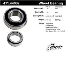 Axle Shaft Bearing-Premium Bearings Rear Centric 411.44007