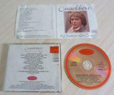 CD ALBUM BEST OF GREATEST LOVE SONGS ENGELBERT 16 TITRES 1989 COMPILATION
