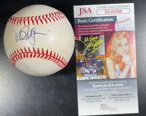 Mark McGwire Signed Autograph Official AL Baseball Oakland A's Cardinals JSA COA