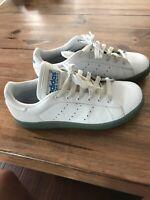Adidas Stan Smith White/Ice Blue Size 6.5