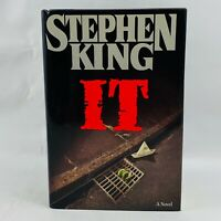 Stephen King IT 1986 First Edition First Printing Hardcover Viking Press Jacket