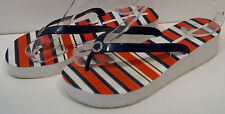 MARC BY MARC JACOBS Multi Colour Stripe Rubber Platform Flip Flops Sandals EU39