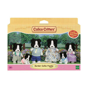 Calico Critters Border Collie Family Set NEW IN STOCK