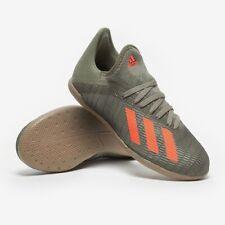 New Adidas C 19.3 IN Kids Unisex Junior Soccer Shoes Sneakers Green Orange Sz/ 6