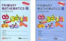 Singapore Math: Grade 4 Primary Math Workbook Set 4A & 4B (US Edition)