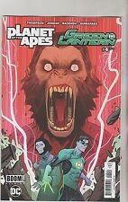 BOOM STUDIOS & DC PLANET OF THE APES GREEN LANTERN #4 MAY 2017 1ST PRINT NM