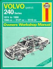 VOLVO 240,244,245,DL,GL,GLT,E,DLE,GLE,SALOON,ESTATE HAYNES MANUAL 1974-1988
